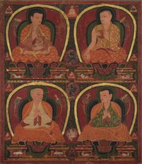 Four Seated Masters