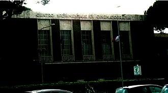 Centro Sperimentale di Cinematografia - The Centro Sperimentale di Cinematografia