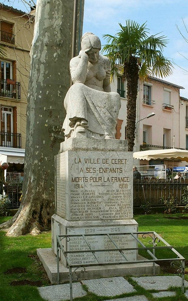Monument historique à Céret