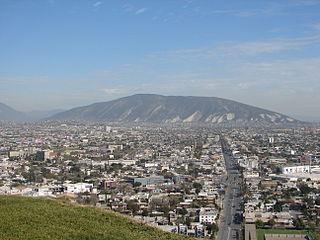 Cerro del Topo Chico Mountain in Nuevo León, Mexico