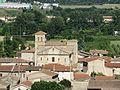 Champagne (Ardèche) église extérieur de loin 2.jpg