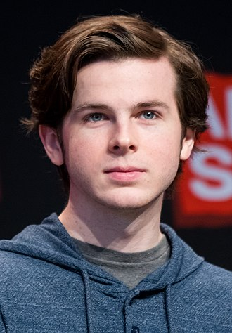 Chandler Riggs - Riggs at a 2018 Walker Stalker Con