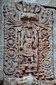 Chandramouleshwar Temple, idol of god carved in Chalukya style on the outer walls of the temple.jpg