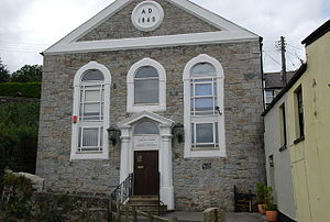 Ivybridge - The old town hall – Chapel Place