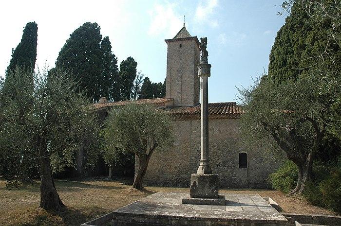 Chapelle notre dame de vie monument historique mougins for Le jardin mougins