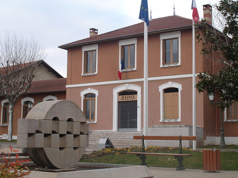 Chaponnay France  city photos : Chaponnay mairie Wikimedia Commons