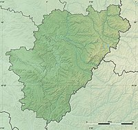 Charente department relief location map.jpg