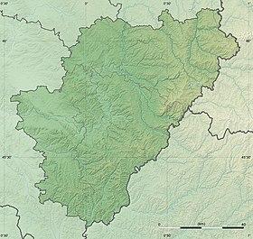 Voir sur la carte topographique de la Charente