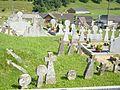 Charitte-de-Haut (Lacarry e.a., Pyr-Atl, Fr) cimetière avec vieilles croix et stèles basques.JPG
