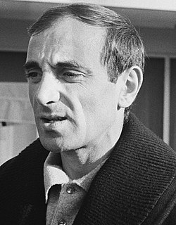 Charles Aznavour French and Armenian singer and songwriter