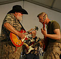 Charlie Daniels Band visits troops in Sunni Triangle of Iraq DVIDS18381.jpg