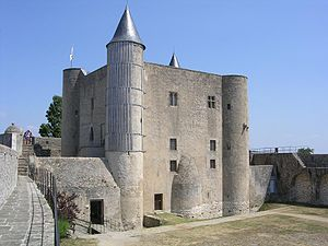 First Battle of Noirmoutier - Image: Chateau Noirmoutier 66