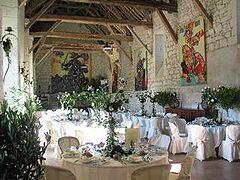salle de la toison dor chteau du rivau - Chateau Du Rivau Mariage