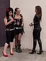 Chatting Girls - Folsom Street Fair 2011.jpg