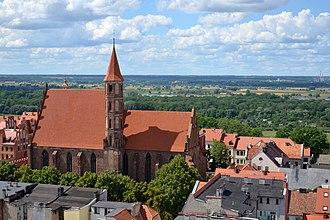 Chełmno - Image: Chełmno, kościół św. Jakuba i św. Mikołaja (2)