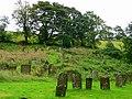 Chelmorton churchyard - geograph.org.uk - 977593.jpg