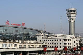 Chengdu Shuangliu International Airport international airport in Sichuan, China