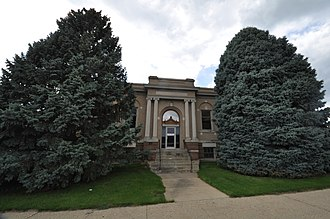 National Register of Historic Places listings in Cherokee County, Iowa - Image: Cherokee IA Library