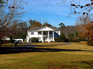 National Register of Historic Places listings in DeKalb County, Alabama - Image: Cherokee Plantation Fort Payne Nov 2017 2