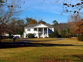 National Register of Historic Places listings in DeKalb County, Alabama - Image: Cherokee Plantation Fort Payne Nov 2017 2