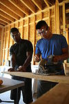 Cherry Point Marines, Sailors build home for Marine family 140817-M-SR938-054.jpg