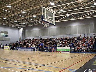 British Basketball League - Image: Cheshire Oaks Arena
