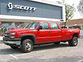 Chevrolet 3500 Silverado Crew Cab Dual 2006 (15314595182).jpg