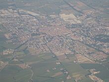 Vista aerea di Chiari
