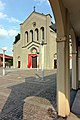 Chiesa Parrocchiale della Beata Vergine Immacolata (vista dal vicino colonnato).jpg