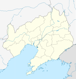 Anshan is located in Liaoning