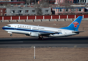 China Southern Airlines Boeing 737-300 B-2911 DLC Feb 2012.png