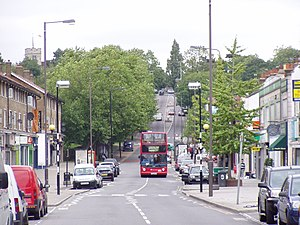 Chingford - Image: Chingford Mount (Old Church Road) Chingford geograph.org.uk 2638823