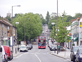 Chingford district of the London Borough of Waltham Forest in East London