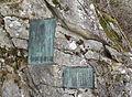 Choei Takezawa relief at Choei hut.JPG