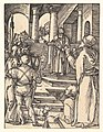 Christ Before Pilate, from The Small Passion MET DP820450.jpg
