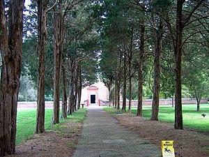 Christ Church (Lancaster County, Virginia) - Image: Christ church lancaster walkway