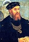 Christian 3. af Danmark og Norge malet 1550.