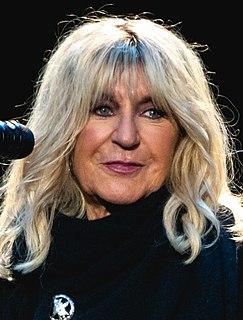 Christine McVie British singer and songwriter, member of Fleetwood Mac