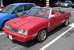 Chrysler LeBaron Convertible (1981–1985)