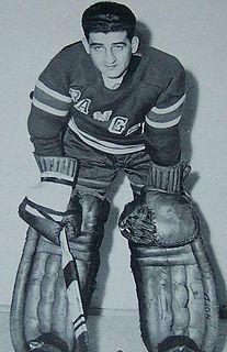 Chuck Rayner Canadian ice hockey player