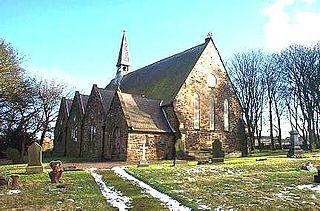 Coundon village in the United Kingdom