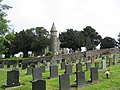 Church of St Tysilio, Llandysilio, from the cemetery - geograph.org.uk - 843644.jpg