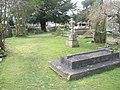 Churchyard at Holy Trinity, Blendworth - geograph.org.uk - 1199280.jpg