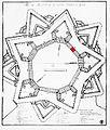 Citadel, Ghent, Belgium, old map.jpg