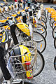 CityCycles lined up in King George Square (5220354914).jpg