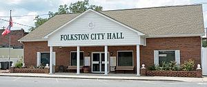 Folkston, Georgia - City Hall