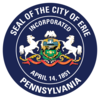 Official seal of Erie, Pennsylvania