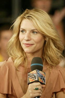 Claire Danes in Toronto for a MuchOnDemand in promotion of Stardust.