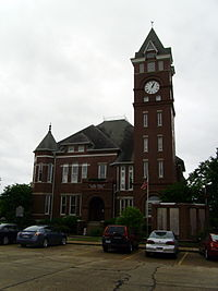 Clark County Courthouse (Arkansas) 001