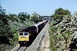 Class 47 freight Old Milverton 1985 (30525672333).jpg